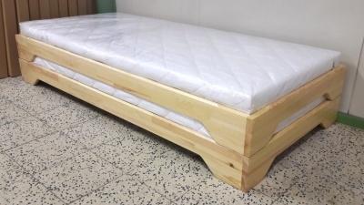 Heverő - 90x200 - emeletes-szétszedhető 2 külön ágyra! - Akció!